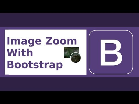 Image Zoomer With Bootstrap (Magnifier Glass, Inner Zoom, Popover)