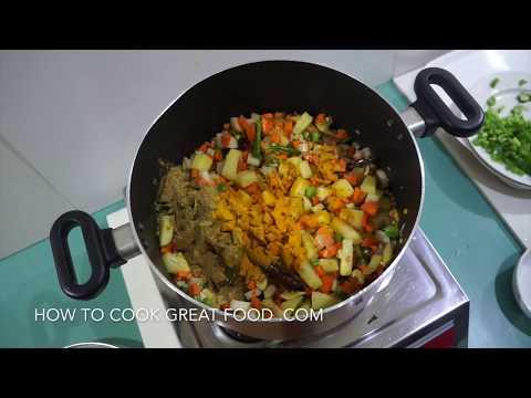 Indian Style Vegetable Soup - Winter Warmer Recipe - Vegan