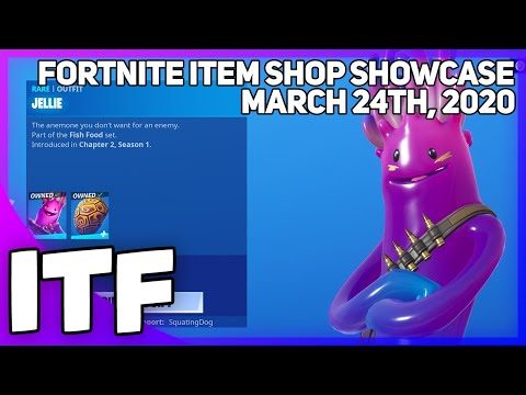 Fortnite Item Shop JELLIE IS BACK! [March 24th, 2020] (Fortnite Battle Royale)
