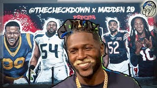 Antonio Brown Calls Out Ea After Madden 20 99 Overall Club Chose Dhop!