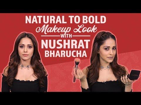 GRWM: Natural Bold Makeup Look with Nushrat Barucha | Fashion | Pinkvilla