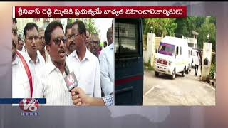 Tension In  Khammam As TSRTC Driver Attempts Self-immolation Amid Indefinite Strike