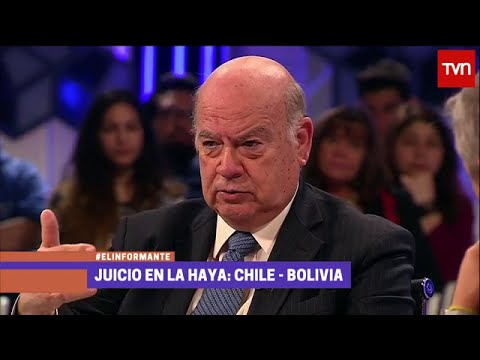 🌎 TVN Chile, El Informante: Insulza y Errazuriz. 2 de 2 (Parte Chilena) 29/Sep #MarParaBolivia