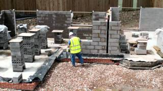 Wonderful Homes - Walls Going Up At Our Development Of 5 New Homes On Gospel Lane