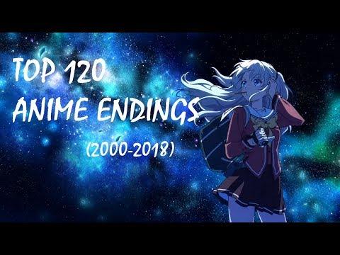 Top 120 Anime Ending Songs (2000-2018)