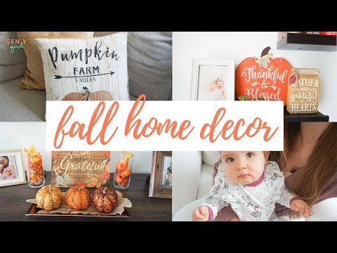 FALL HOME DECOR 2018 | AFFORDABLE FALL DECOR HOME TOUR | Kayla Buell