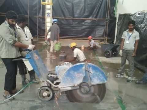 Tritherm-rcc concrete diamond sawing cutting contractors services works in chennai,india- 9884846446