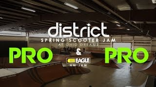 District Spring Scooter Jam // Pro Top 3 Runs
