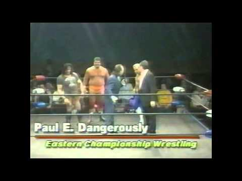 Paul Heyman ECW Debut