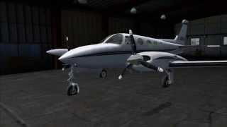 (FSX) Carenado Cessna 340 Picture Review