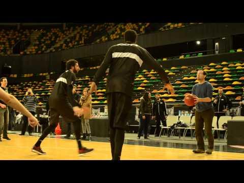 Cultura del Agua con el Bilbao Basket #PlanBBwater