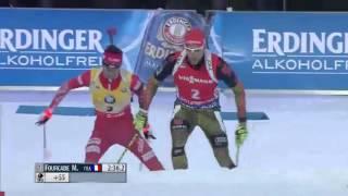Bmw ibu biathlon world cup 2015-2016 (week 1) - men's 12,5km pursuit race06.12.2015, ostersundfourcade wire-to-wire in victoryblazing skismartin four...