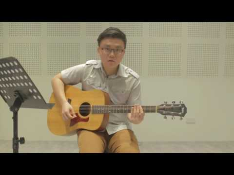 Guitar Lesson 01 - Tuning, Rhythm, Strumming