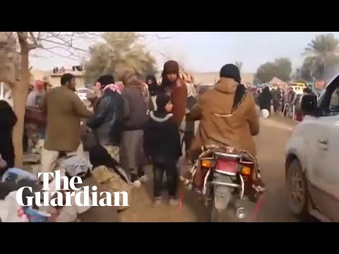 Isis releases video of fighters in Baghouz as war reaches final days