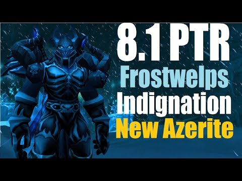 8.1 PTR Frost DK PvE - New Azerite Trait - is Froswhelp's Indignation strong?