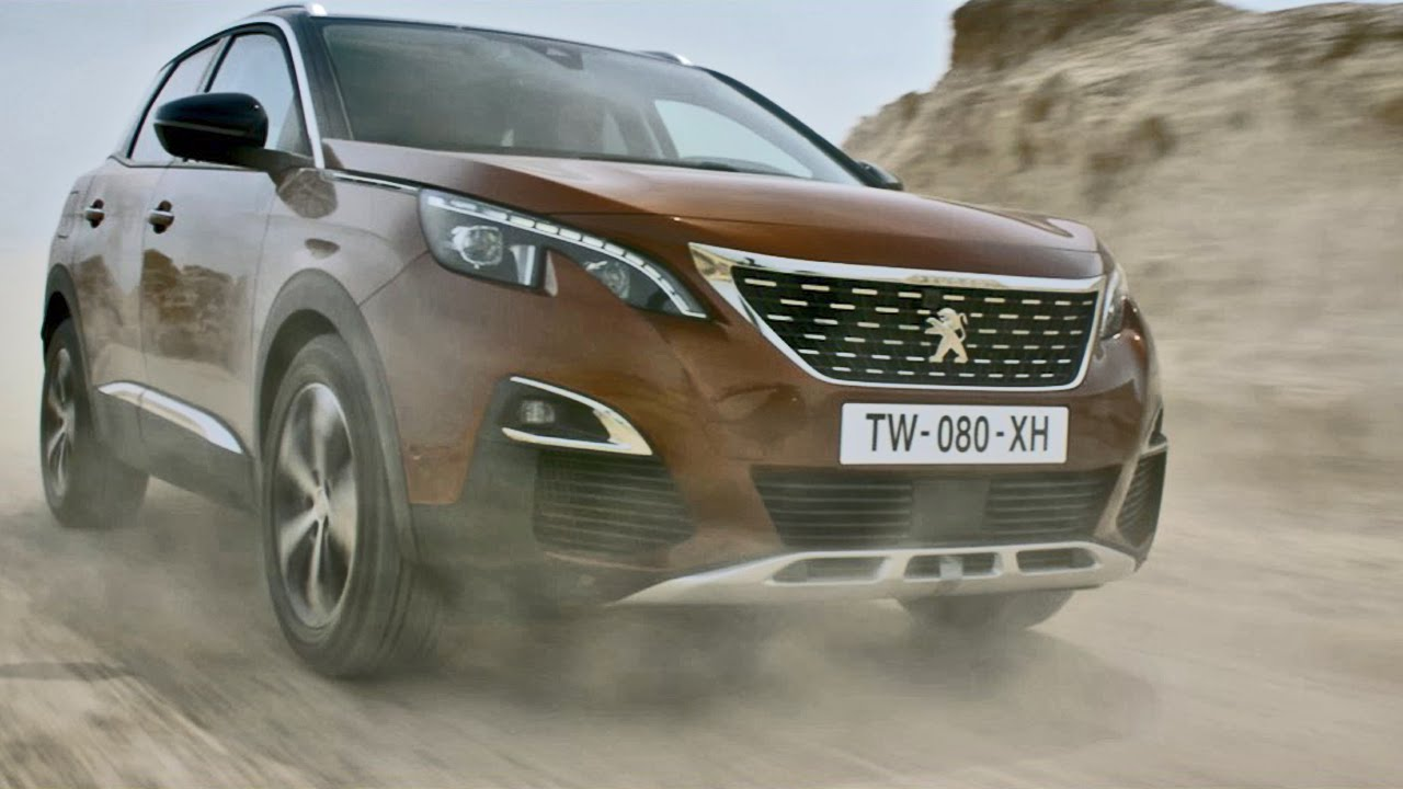 OFFICIAL: 2017 Peugeot 3008 - YouTube