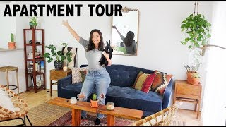 Furnished Apartment Tour with a House Rabbit! 🐰