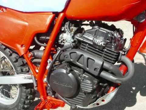 1984 Honda XR 250 Project - YouTube