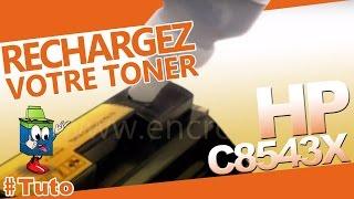 C8543X HP Toner : Bien Recharger Le Toner(Abonnez-vous à notre chaîne ici : http://lc.cx/Zcqc Méthode simple pour recharger les toners HP C8543X en utilisant un kit chez http://www.encros.fr. Détails des ..., 2014-03-03T16:48:12.000Z)