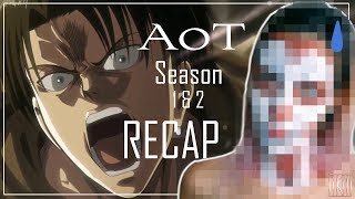 Attack on Titan Season 1 & 2 RECAP (+ titan transformation) | IkuTree