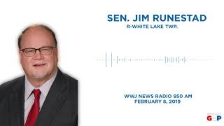 Sen. Runestad appeared on WWJ News Radio to discuss mail theft
