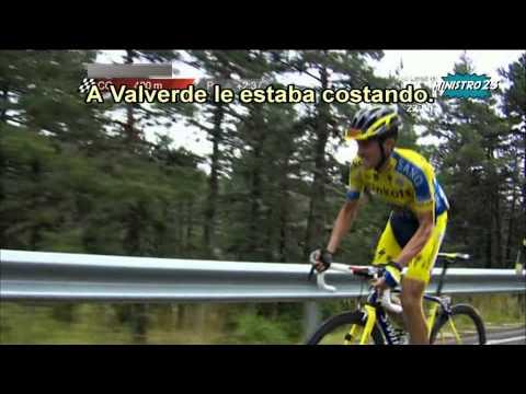 Ataque de Alberto Contador - Valdelinares - Vuelta España 2014