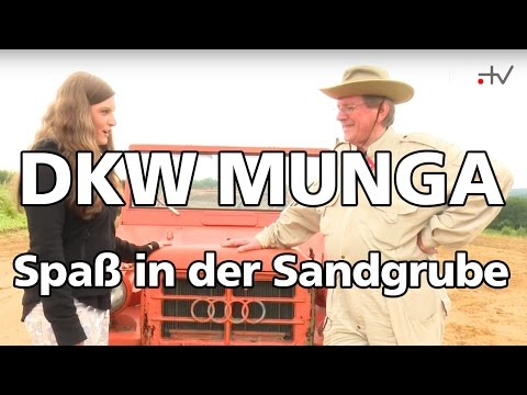 MD.JANA UND DIE ALTEN - Unterwegs im DKW Munga