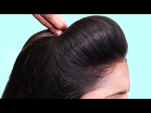 New bun hairstyle for wedding/party/function   trending hairstyle   party hairstyle   updo hairstyle thumbnail