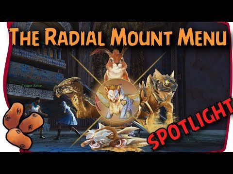 Guild Wars 2 Path of Fire - The Radial Mount Menu Tool
