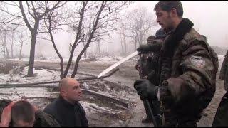 Ukrainian Prisoners of War with Givi