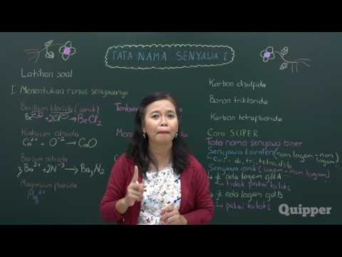 Quipper Video - Kimia - Tatanama Senyawa 1 - [SMA]