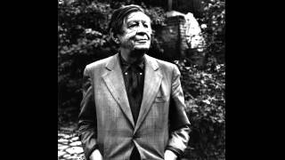 W.H. Auden reads 'The Cave of Making (in memoriam Louis MacNeice)'