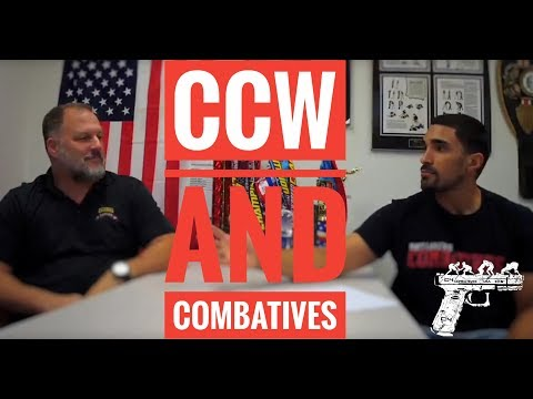 """The """"Father of Modern Army Combatives"""" Matt Larsen discusses Combatives and Concealed Carry"""