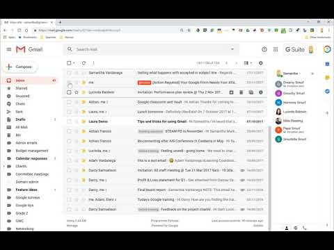 How to do a Gmail inbox spring clean