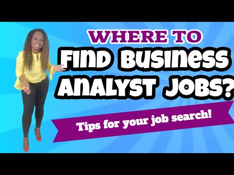 Where To Find Business Analyst Jobs?
