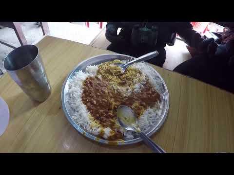 Desi Ghee Rajma Rice - Madan Dhaba Jammu to Srinagar Highway