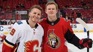 Matthew and Brady Tkachuk face each other for first time