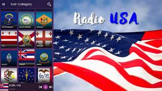 Radio Usa: Usa Radio Stations, FM Radio
