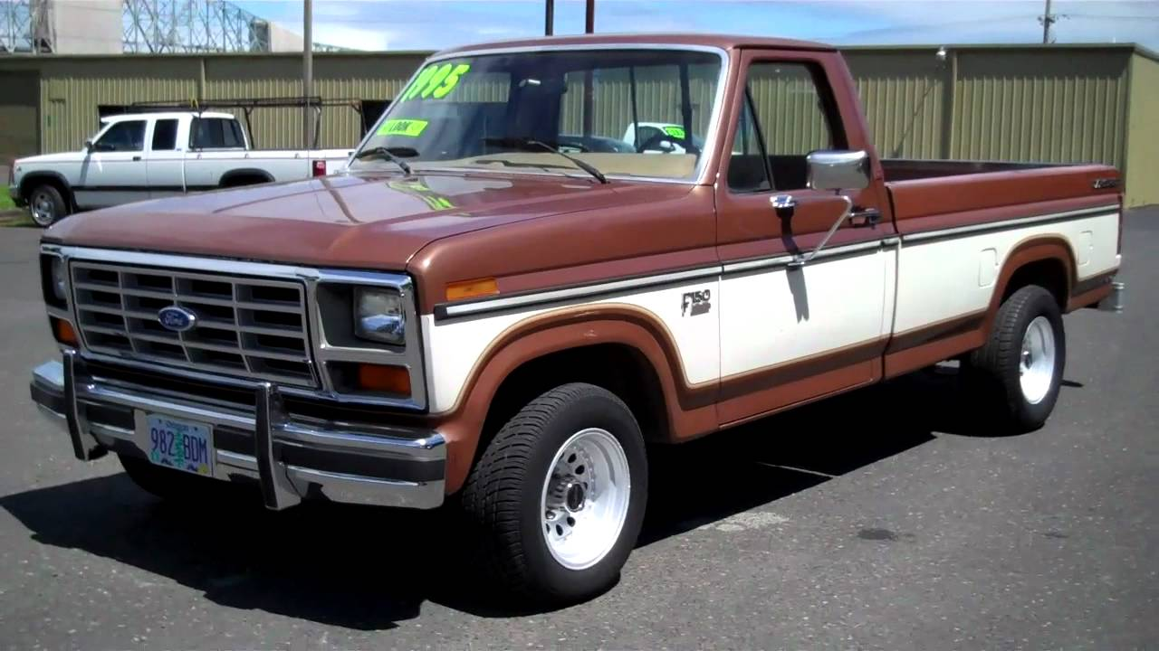 Ricks Auto Sales >> 1985 FORD F150 XLT SOLD!! - YouTube