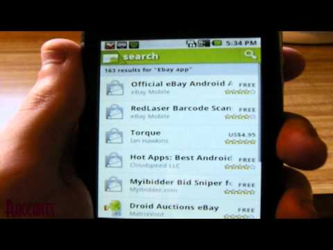Android Phones: How To Install Official Ebay Application
