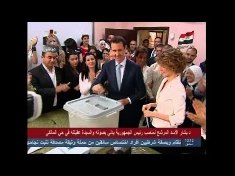 Assad eyes crushing win in controversial Syria polls