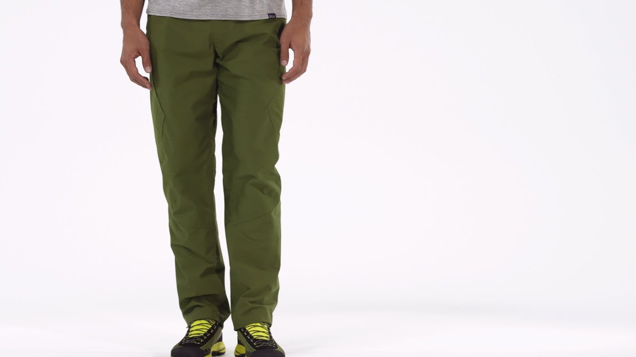 Patagonia Men s Venga Rock Pants - YouTube c89f27d40