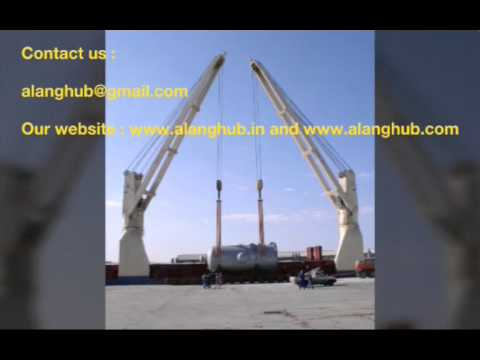 Supplier and Exporter of Used Marine Crane