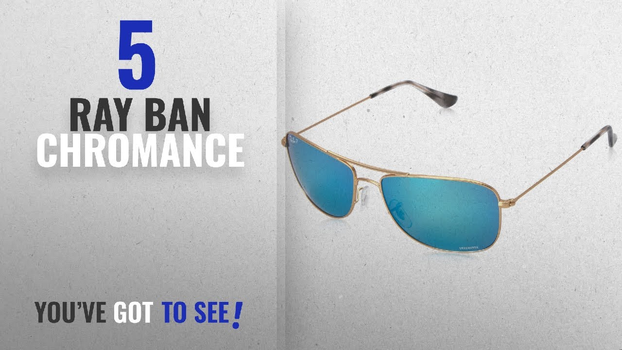 fc750ca5743 Top 10 Ray Ban Chromance   Winter 2018    Ray-Ban Men s RB3543 ...
