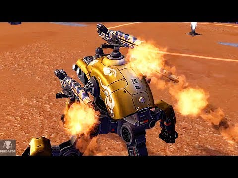 MRK II Fujin Wasp Effective In Champion League? | Wasp Against New Robots | War Robots