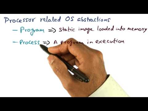 Processor Related OS Abstractions - Georgia Tech - Advanced Operating Systems