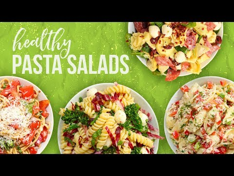 5 Healthy PASTA SALAD Recipes | Back-To-School 2017