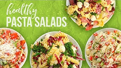 5 Healthy PASTA SALAD Recipes | Back-To-School 2017
