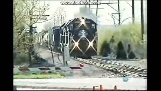 train crash / near miss compilation 2