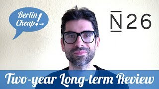 💳 N26 test: 2-Year Review of the Free Online Bank Account (+Security Tips)